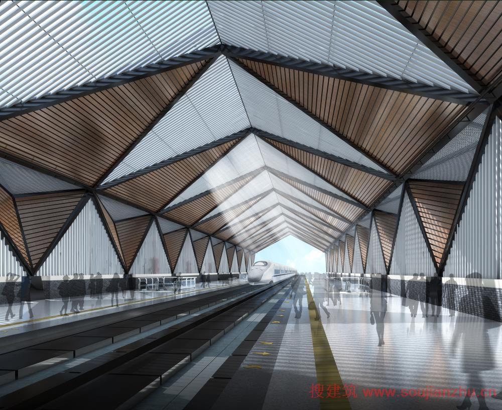 以钢结构屋顶和人造石外墙饰面为主,估算造价八千六百万.