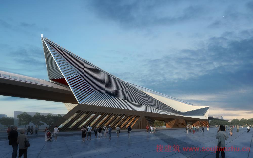 建筑新闻 方案-中国建筑设计院有限公司  建筑采取精简的传统屋顶元素