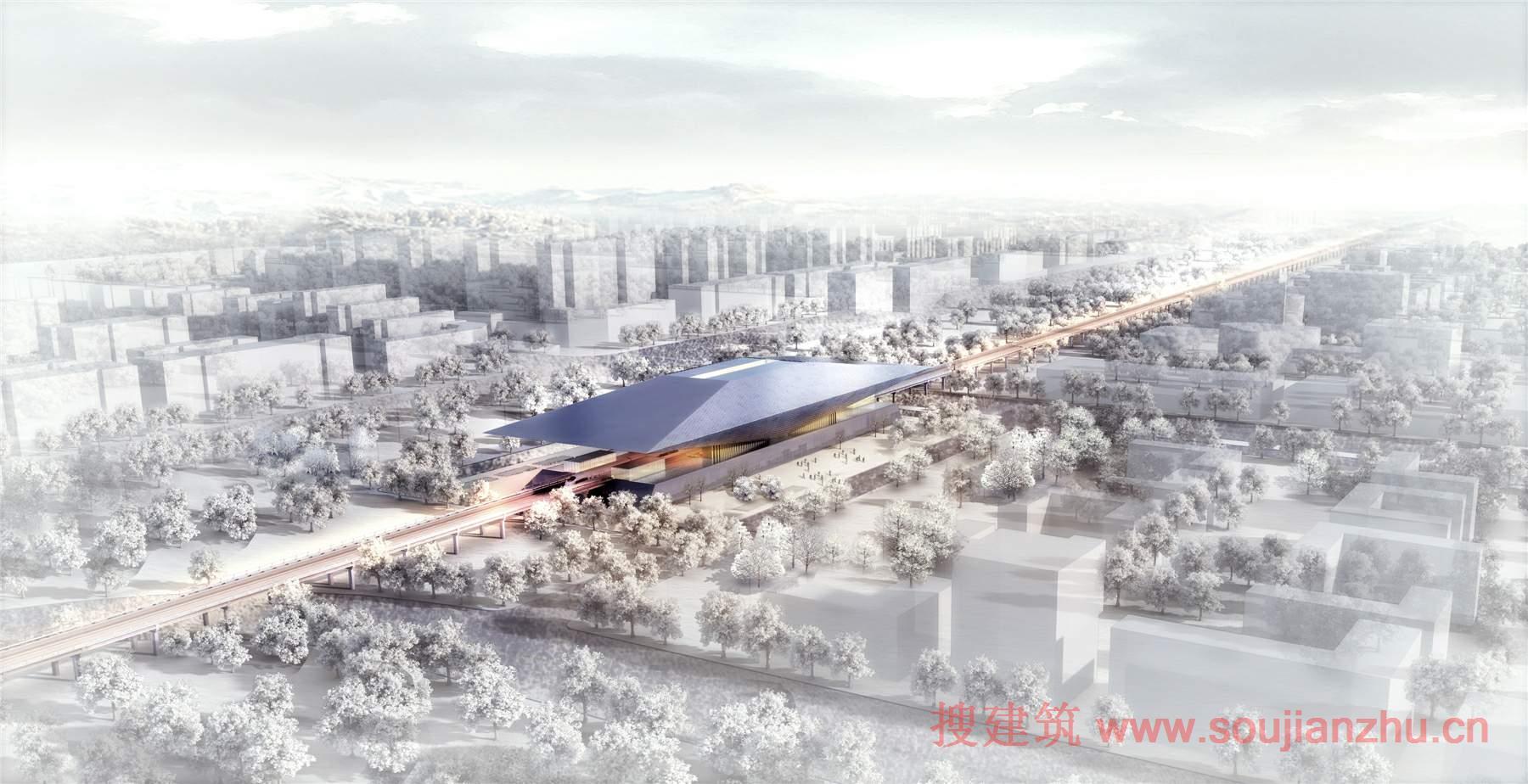 方案-中国建筑西北设计研究院西安北至机场城市轨道项目设计方案