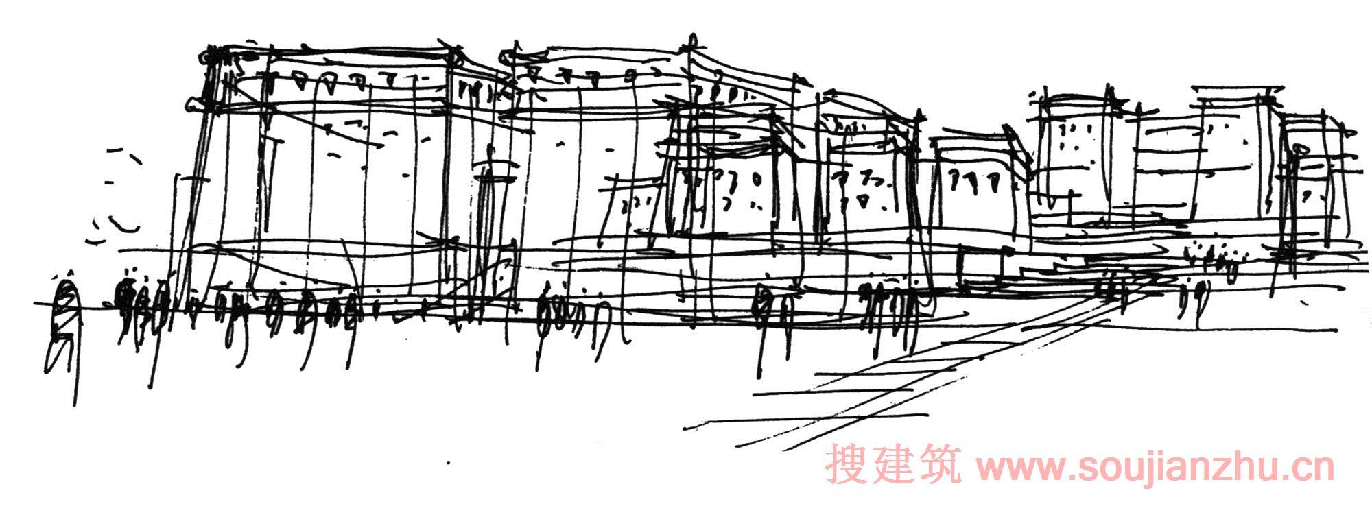 建筑师:THAD - 清华大学建筑设计研究所 地点:中国 青海 面积:72000平方米 年份:2014  青海玉树位于青藏高原的内地,平均海拔为4200多米。嘎多觉悟是藏区四大神山之一,也是四大神山中最为神秘原始的一座神山。玉树之所以一直被称为三河源头,因为它是长江、黄河和澜沧江的发源地。在玉树97%的人口是藏族的,拥有丰富的民族特色。  玉树藏族自治州的行政中心位于中国青海省,是2010年4月14日玉树大地震后的重点改造项目之一。总建筑面积72000平方米。该项目的主要建筑是玉树规模最大和最高的个体建