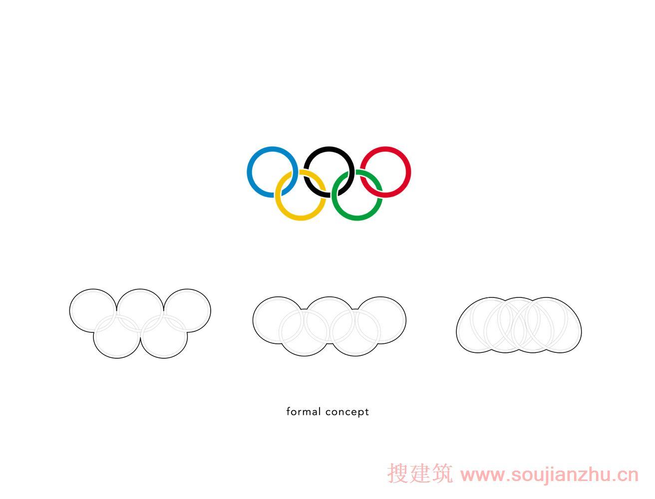 北京·2022北京冬季奥运会三山桥--灵感来自奥运五环---penda