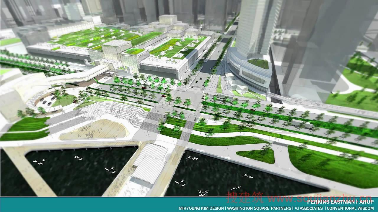 纽约和新泽西港务局透露,在西曼哈顿港务局巴士站的设计中有五支参赛队入围,分别是:Arcadis of New York, Archilier Architecture Consortium, Hudson Terminal Center Collaborative,Pelli Clarke Pelli Architects, and Perkins Eastman。  港务局巴士站国际设计+产能竞争,委托建筑师重新定义目前的巴士站,该终端建于1950年,为了当时的客流需要在1979年进行了扩建。该终端目前
