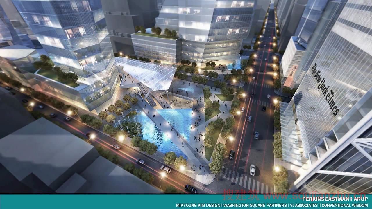 搜建筑网 -- 5个车站设计方案,不一样的美感!