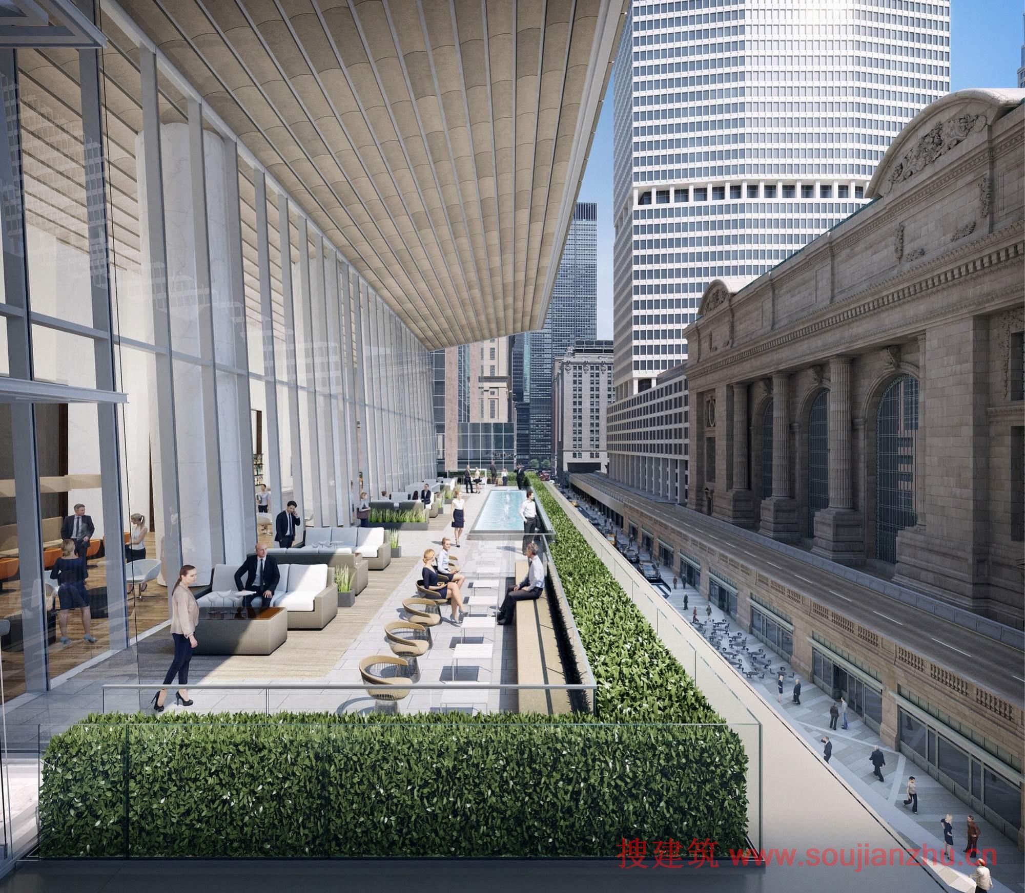 纽约未来的第二高塔破土动工