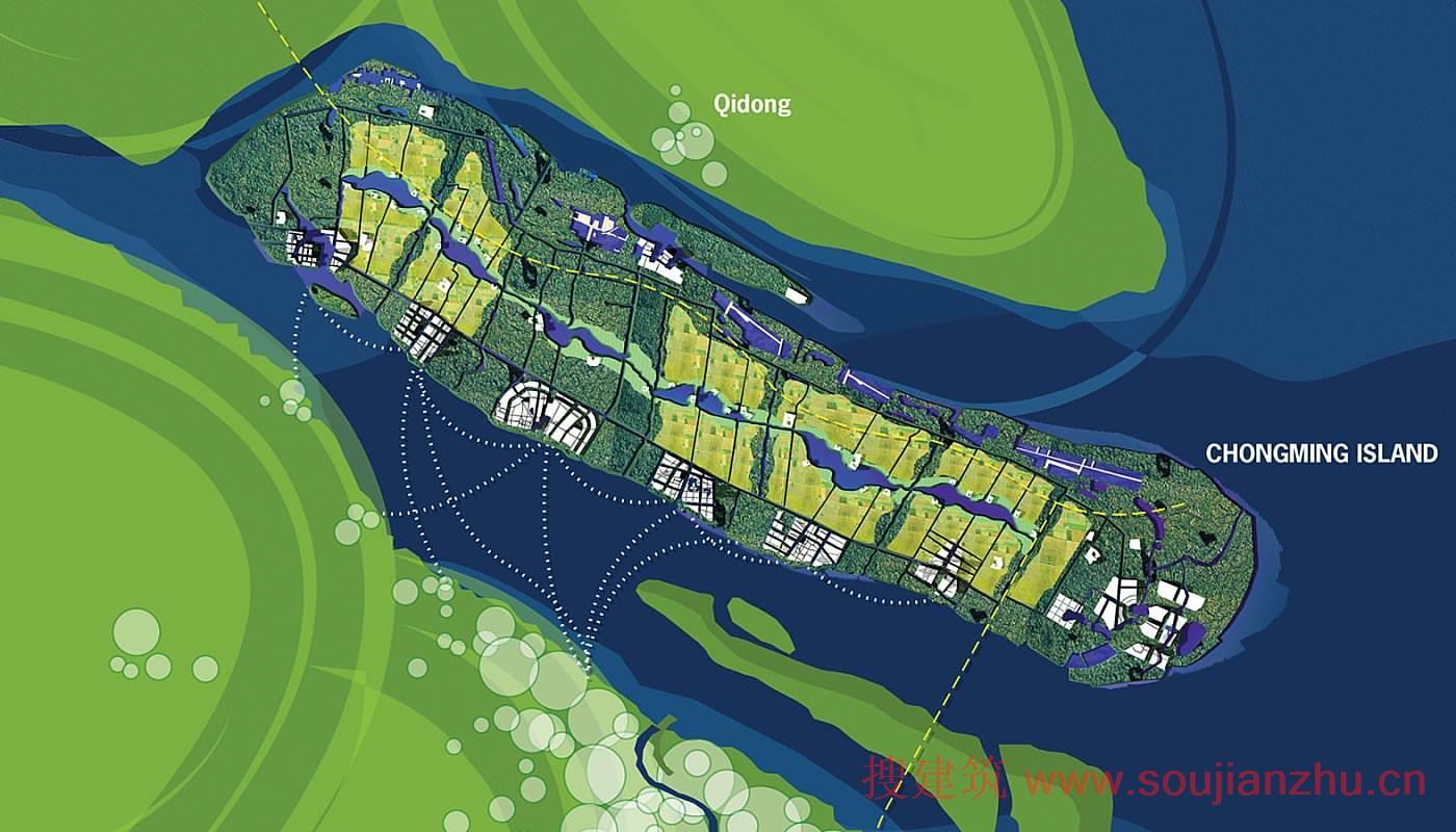 上海·崇明岛总体规划