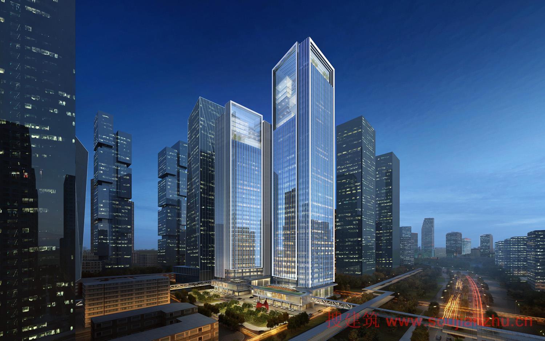 美国gp建筑设计有限公司赢得中粮前海亚太区总部设计竞赛