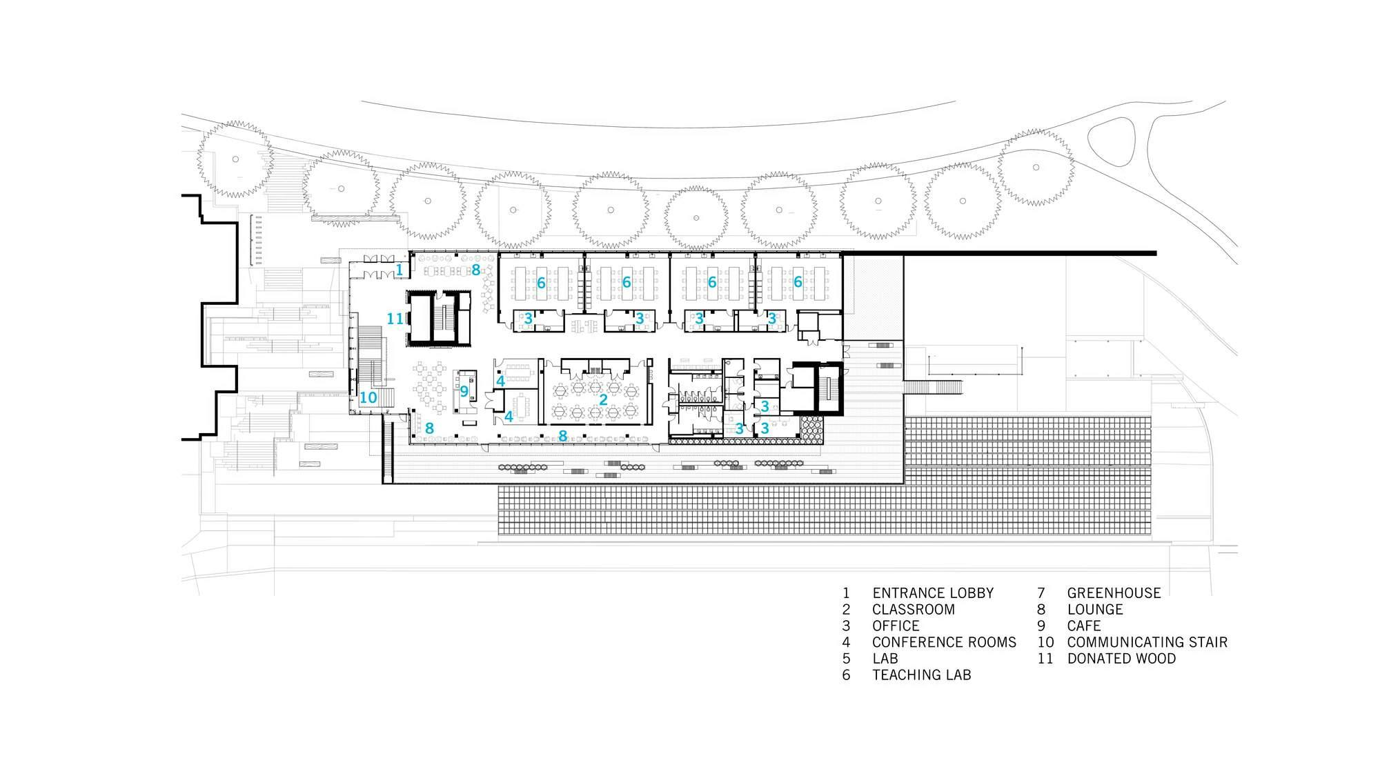 华盛顿大学西雅图_美国·华盛顿大学生命科学楼---Perkins+Will-搜建筑网