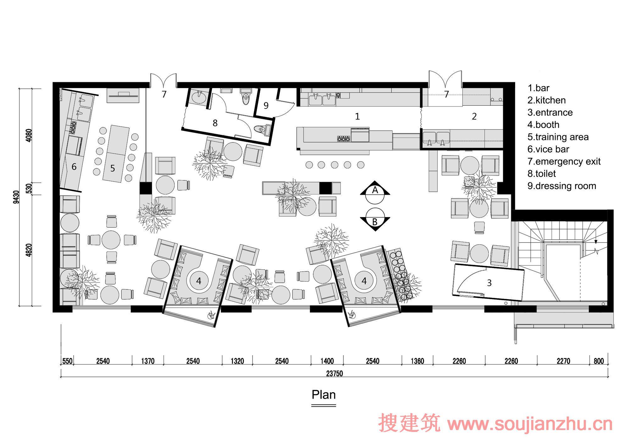 两室一厅三层平面设计图_两室一厅三层平面设计图图片